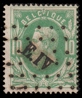 "COB N° 30 - Obl. ""CONCOURS"" De L' Ambulant E.IV LIEGE-ERQUELINNES - 1869-1883 Leopold II."