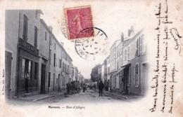 17 - Charente Maritime - MARANS - Rue D Aligre - France