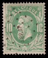 COB N° 30 - TB Oblitération De L' Ambulant AM.BR.AR (10mm) - Pas Courant! - 1869-1883 Léopold II
