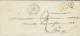 1841- Lettre De Champigny-s-Marne ( Val De Marne ) + S Boite Rurale De Sucy En Brie - Marcofilia (sobres)