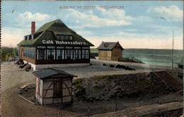! Alte Ansichtskarte 1918 Gross Möllen, Cafe Hohenzollern - Pommern