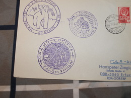 Arctique Russe Carte 1983 - Polar Philately
