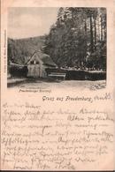 ! Alte Ansichtskarte 1901, Gruss Aus Freudenburg, Wüstegiersdorf, Einkreisstempel Neuhäuser Ostpreußen - Schlesien