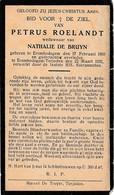 Erembodegem-Terjoden, 1932, Petrus Roelandt, De Bruyn - Devotieprenten
