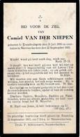 Erembodegem, Nieuwerkerken, 1933, Camiel Van Der Niepen, - Devotieprenten