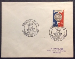 022 Bi Millénaire Paris 906 Musée Cluny 7/7/1951 FDC Premier Jour Lettre Enveloppe - FDC