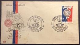 024 Bi Millénaire Paris 906 Musée Cluny 7/7/1951 FDC Premier Jour Lettre Enveloppe - FDC