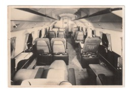 Vintage Photo Of The Inerior Of Ist Class Section Of Passenger Aeroplane, Lot # ETS 1531 - 1946-....: Era Moderna
