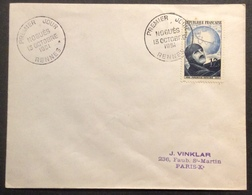 025 Noguès 907 Rennes 13/10/1951 FDC Premier Jour Lettre Enveloppe - FDC