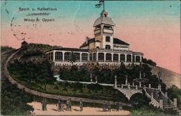 ! Alte Ansichtskarte Winau Bei Oppeln, Cafe Luisenhöhe, 1923 - Poland