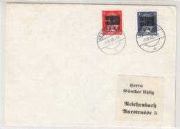 Phil. Brief Mit Marken Aus NETZSCHKAU 1.8.45 Geprüft - Sovjetzone