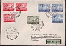 Sweden - 1956 - Olympic Games 1956 - Cover - Estate 1956: Melbourne