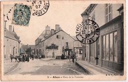 AHUN-PLACE DE LA FONTAINE - France