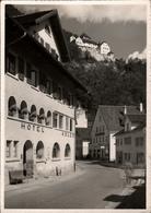 ! 1953 Ansichtskarte, Liechtenstein, Vaduz, Hotel Adler - Liechtenstein
