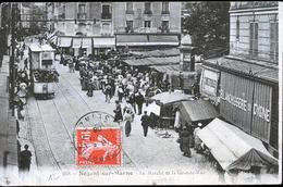 NOGENT SUR MARNE LE MARCHE LE TRAM - Nogent Sur Marne