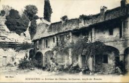 Sommières. Intérier Du Château, Les Casernes, Temple Des Romains. (30 Gard). - Sommières