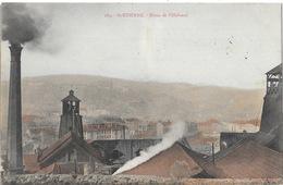 St Saint-Etienne - Mines De Villeboeuf - Editions Nouvelles Galeries - Carte Colorisée N° 189 - Saint Etienne