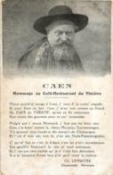 CAEN HOMMAGE AU CAFE RESTAURANT DU THEATRE  PAR CH. LEMAITRE - Caen