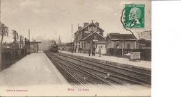 60. Oise : Milly Sur Therain . La Gare . - Autres Communes
