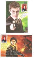 Harry Potter; 2 Cartes Maximum -Fête Du Timbre;Limoges; 2007.(D.4320) - 2000-09