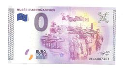 Billet Touristique Zéro Euro 2015 Arromanches 7303 - EURO