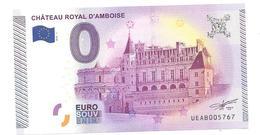 Billet Touristique Zéro Euro 2015 Amboise 5767 - EURO