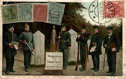 Point Trifrontière Entre Allemagne Belgique Et Pays Bas Hartelyke Groeten Van Nederland Deutschland Belgien Neutral Geb - Vaals