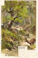 Illustration T. Guggenberger -  Monatsgruß Série II - Mois Juin (Juni) Carte Dos Simple - Guggenberger, T.