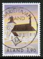 1999 Aland  M 162 Lemland Church Used. - Ålandinseln