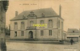 56 Josselin, La Mairie, Visuel Pas Courant - Josselin