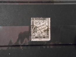 FRANCE YT TX 19 TYPE DUVAL 40c. Noir - 1859-1955 Used