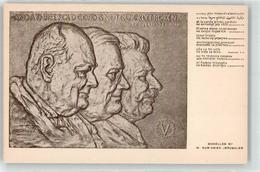 53112095 - Sign. Gur`Arieh, M. Churchill Roosevelt Stalin - Godsdiensten & Geloof