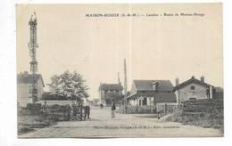 77 - MAISON-ROUGE ( S.et-M. ) Leudon - Route De Maison-Rouge - Francia