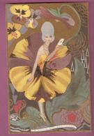 Cp Illustrateur à Identifier - La Viola Del Pensiero - édition Ballerini & Fratini - Illustrators & Photographers