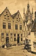 CPA - Belgique - Ieper - Ypres - Musée Et Conciergerie - Ieper
