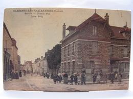 CPA 45 LOIRET BAZOCHES LES GALLERANDES ENTREE GRANDE RUE COTE SUD 234 - Francia