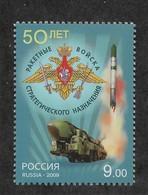 """Russia/USSR 2009, """"Topol"""" Strategic Rocket Forces Sc 7191,VF MNH**OG (PT14) - Militaria"""