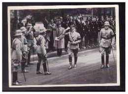 Dt-Reich (008574) Sammelbild, Hindenburg, Ergänzungsserie Bild 11, Ankuft Der Führers Vor Der Krolloper Berlin - Sturm
