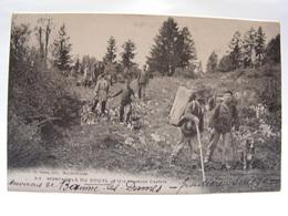 CPA 25 DOUBS CONTREBANDIERS DOUANIERS ENVIRONS DE BEAUME LES DAMES HEUREUSE CAPTURE 241 - Francia