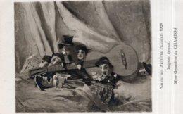 CPA   Mme GENEVIEVE DE CHAMBON---GUIGNOLS LYONNAIS - Peintures & Tableaux