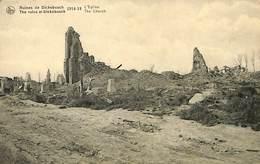 CPA - Belgique - Ieper - Ypres - Ruine De Dickebusch - Ieper