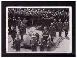 Dt-Reich (008575) Sammelbild, Hindenburg, Ergänzungsserie Bild 20, Während Der Rede Des Führers Der Sarg Wird Eskortiert - Sturm