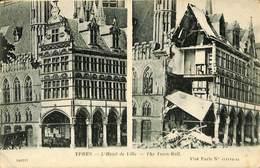 CPA - Belgique - Ieper - Ypres - L'Hôtel De Ville - Ieper