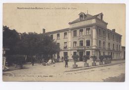 MONTROND Les BAINS Grand Hôtel Du Forez -1915 - Frankrijk