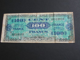 100 Francs - FRANCE - Série 5 - Billet Du Débarquement - 4 Juin 1945 **** EN ACHAT IMMEDIAT **** - Schatkamer