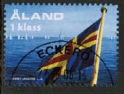 2004 Aland  M 234 Flag Used. - Ålandinseln