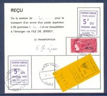 GREVE N° 15 PARIS ORLY SUR LETTRE - Strike Stamps