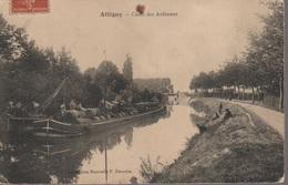 ATTIGNY -CANAL DES ARDENNES - Attigny