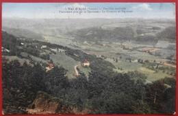 Cpa 88 FEUILLEE NOUVELLE Val D'Ajol Panorama Pris De La Terrasse Le Girmont Et Faymont Pas Courant - Autres Communes