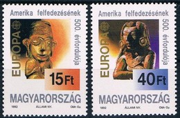 Cept 1992 Hongrie Hungary Ungarn Yvertn° 3370-3371 *** MNH Cote 6,00 Euro - Europa-CEPT